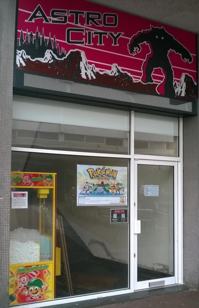 Astro City Entrance